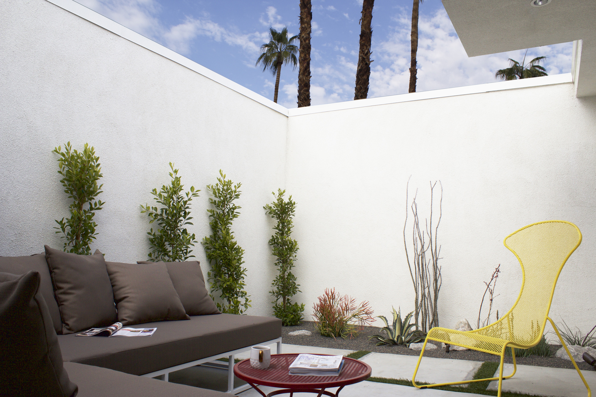 Palm springs firebird bauer clifton interiors juneau for Palm springs interior design style