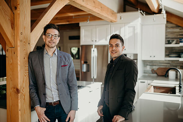 Jeremy Bauer & Jason Clifton of Bauer-Clifton Interiors